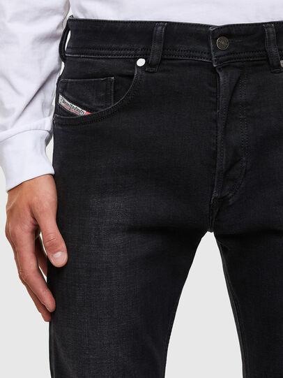 Diesel - Sleenker 009DH, Nero/Grigio scuro - Jeans - Image 3