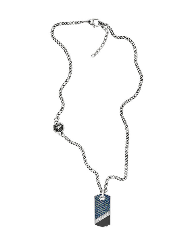 NECKLACE DX1030, Blu Jeans