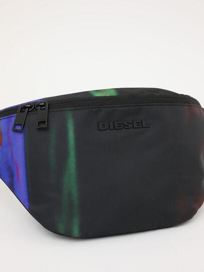 Diesel - F-SUSE BELT DM, Nero/Blu - Marsupi - Image 7