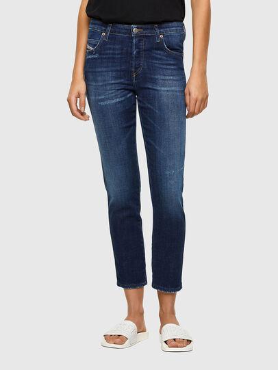Diesel - Babhila 009PP, Blu Scuro - Jeans - Image 1