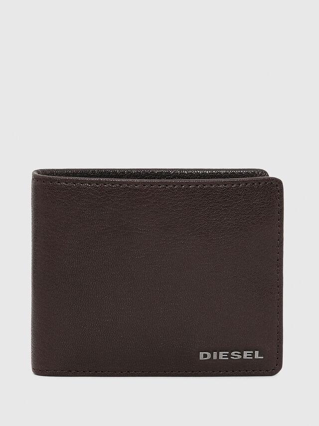 Diesel - HIRESH S, Marrone - Portafogli Piccoli - Image 1