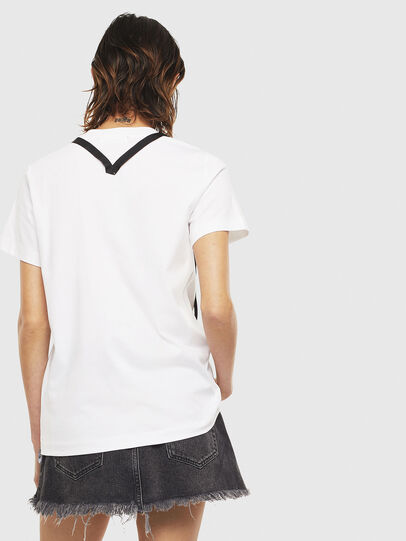 Diesel - T-SILY-S3, Bianco - T-Shirts - Image 2