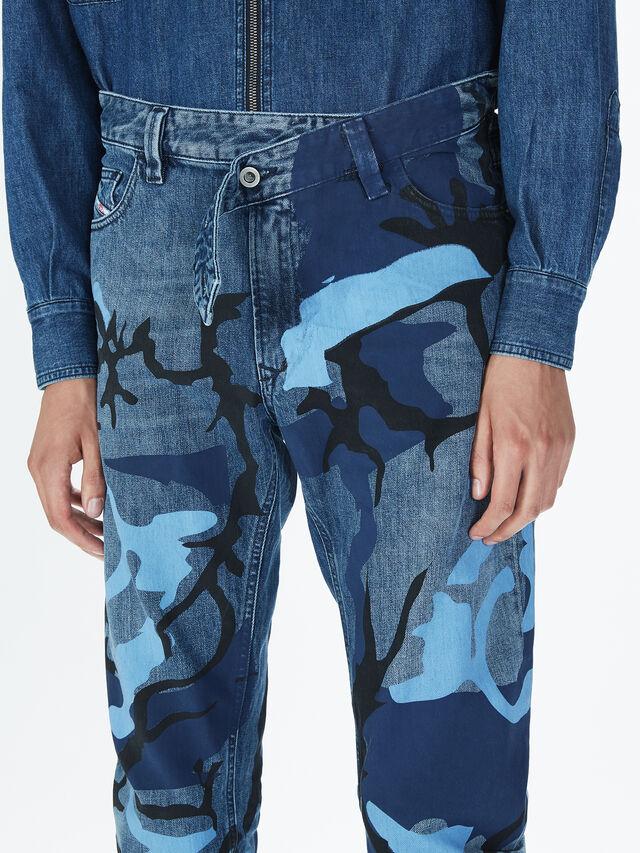 Diesel - SOPKN01, Blu Mélange - Jeans - Image 5