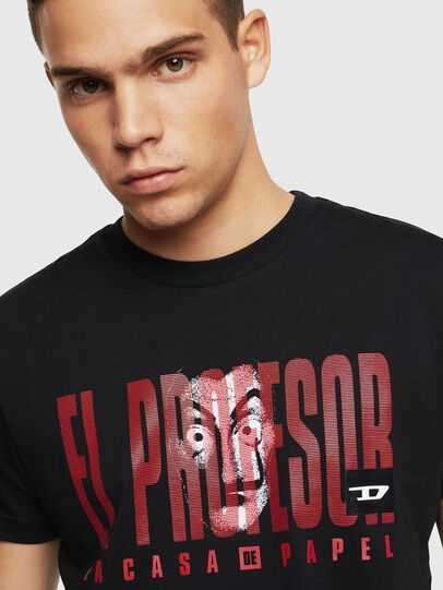Diesel - LCP-T-DIEGO-ELPROFES, Nero - T-Shirts - Image 5