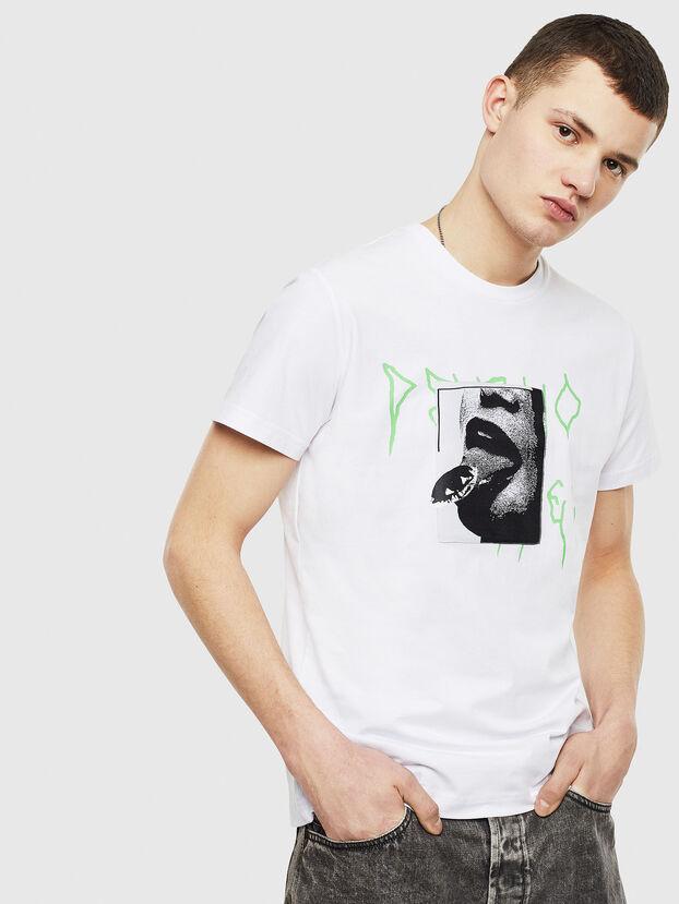 T-DIEGO-S12, Bianco - T-Shirts