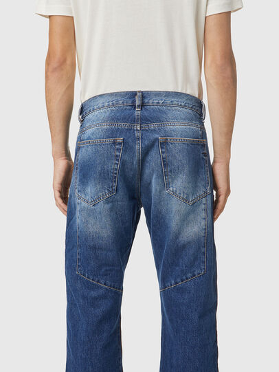 Diesel - D-Viker 0KDAV, Blu/Marrone - Jeans - Image 4