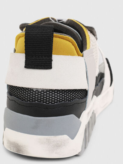 Diesel - S-RUA LOW DEC, Bianco - Sneakers - Image 7