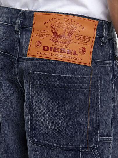 Diesel - D-Franky 009IY, Blu Scuro - Jeans - Image 5