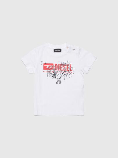Diesel - TUDARIB, Bianco - T-shirts e Tops - Image 1