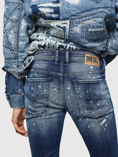 Diesel - Sleenker 0091Y, Blu medio - Jeans - Image 5