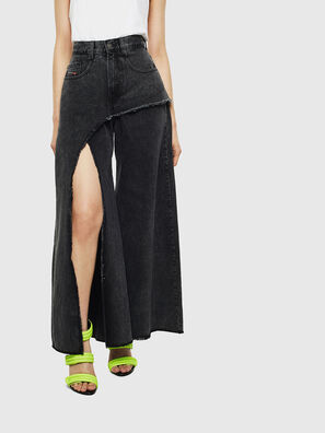 D-Izzier 0KAXA, Nero/Grigio scuro - Jeans