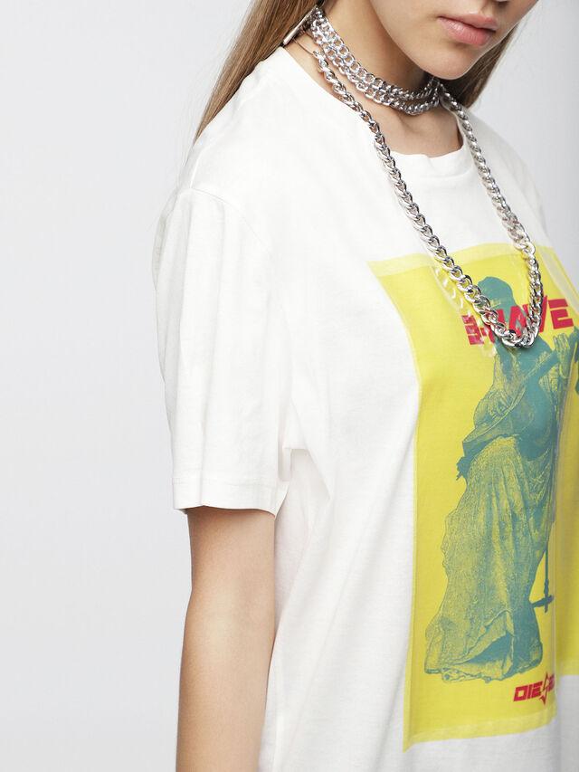Diesel - T-DARIA-C, Bianco - T-Shirts - Image 3
