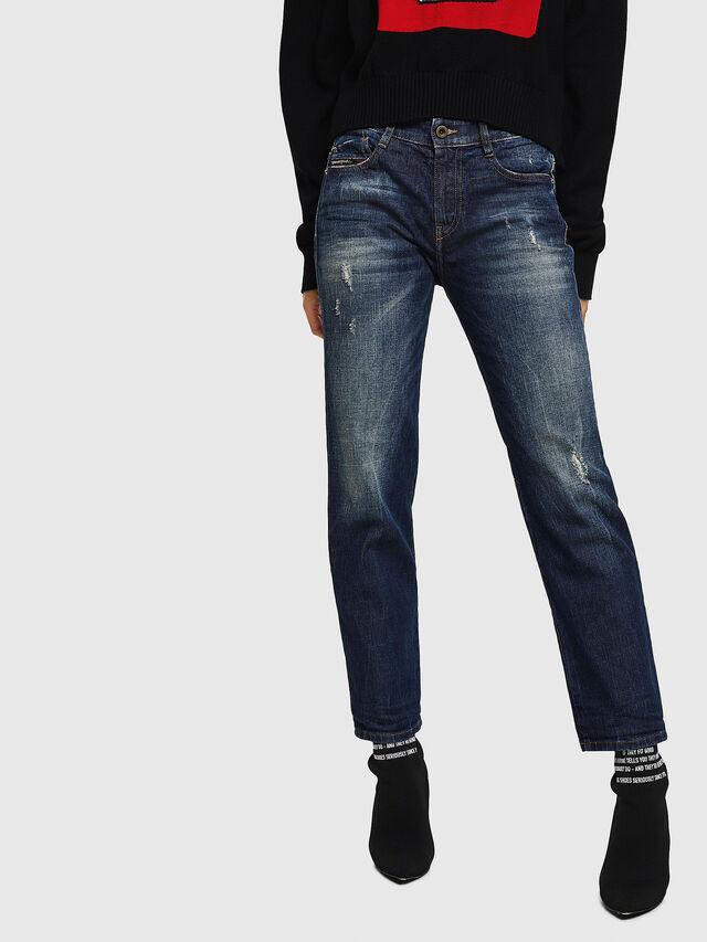 Diesel - D-Rifty 089AL, Blu Scuro - Jeans - Image 1