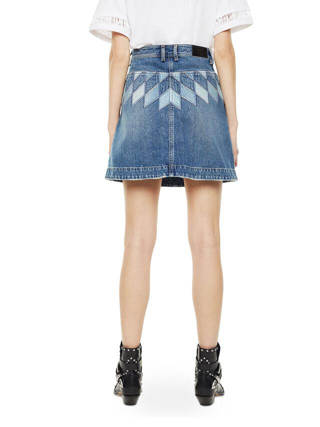 Diesel - OSSANA, Blu Jeans - Gonne - Image 2
