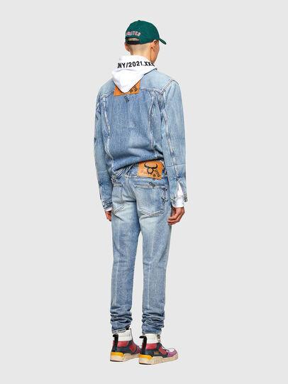 Diesel - D-Kras 009VW, Blu Chiaro - Jeans - Image 7