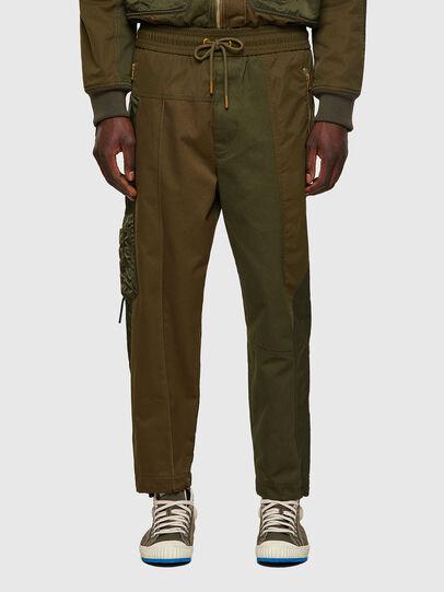 Diesel - P-BRIGGS, Verde Militare - Pantaloni - Image 1