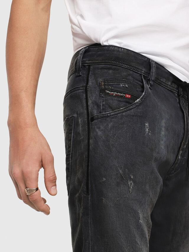 Diesel - Krooley JoggJeans 069IA, Nero Jeans - Jeans - Image 3