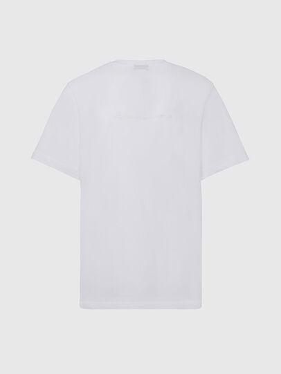 Diesel - T-TUBOLAR-X20, Bianco - T-Shirts - Image 2