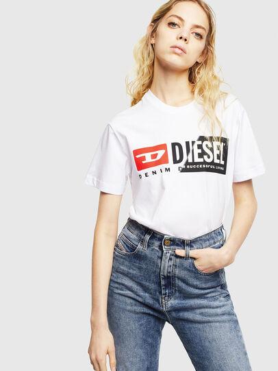 Diesel - T-DIEGO-CUTY, Bianco - T-Shirts - Image 6