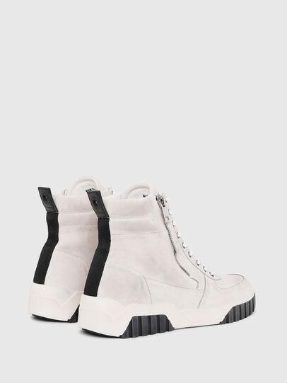 Diesel - S-RUA MID, Bianco - Sneakers - Image 3