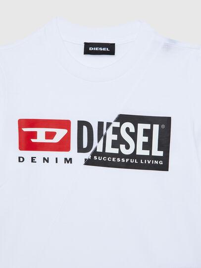 Diesel - TDIEGOCUTYB ML-R, Bianco - T-shirts e Tops - Image 3