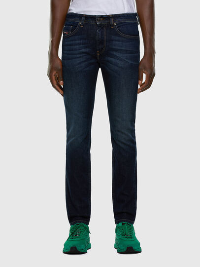 Diesel - Thommer 009HN, Blu Scuro - Jeans - Image 1