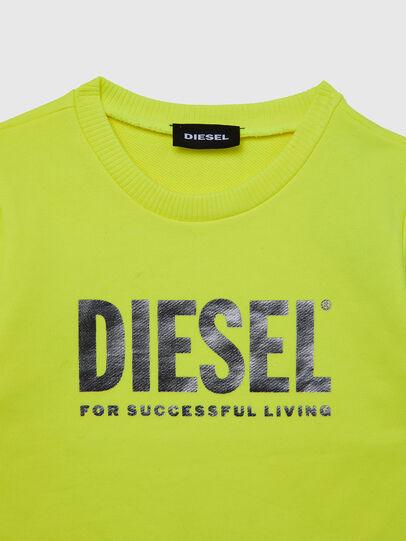 Diesel - SVELIB-R, Giallo - Felpe - Image 3