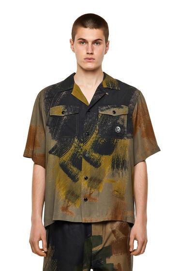 Camicia in lyocell stampato