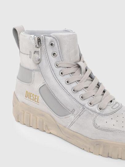 Diesel - S-RUA MID SK, Bianco - Sneakers - Image 6