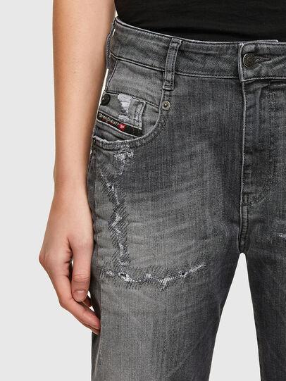 Diesel - Fayza JoggJeans® 009QT, Nero/Grigio scuro - Jeans - Image 3