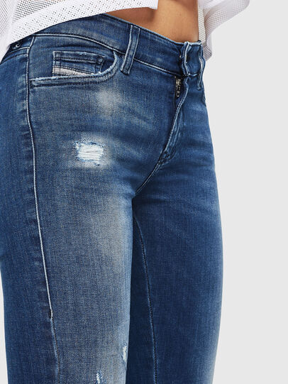 Diesel - Slandy 089AI, Blu medio - Jeans - Image 3