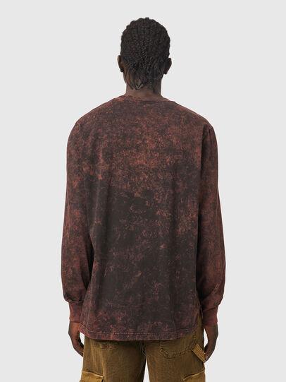 Diesel - T-GLYN, Nero/Marrone - T-Shirts - Image 2