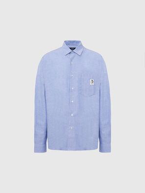 S-LOOMY-A, Blu Chiaro - Camicie