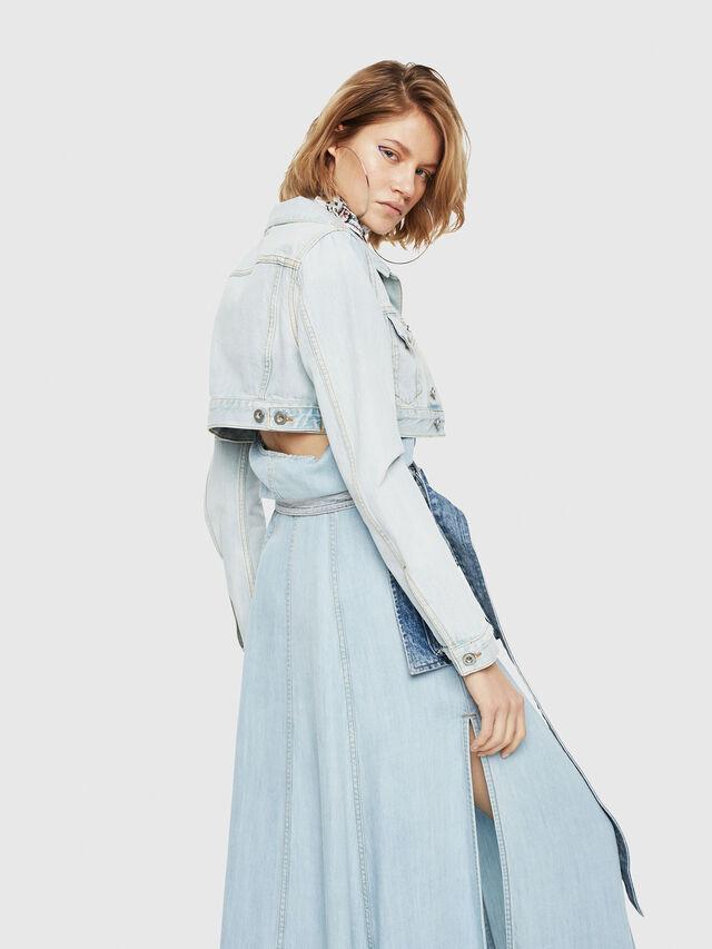 Diesel - DE-ZAUPY, Blu Jeans - Giacche in denim - Image 2