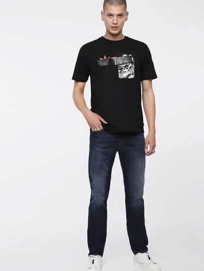Diesel - Buster 084XH, Blu Scuro - Jeans - Image 3