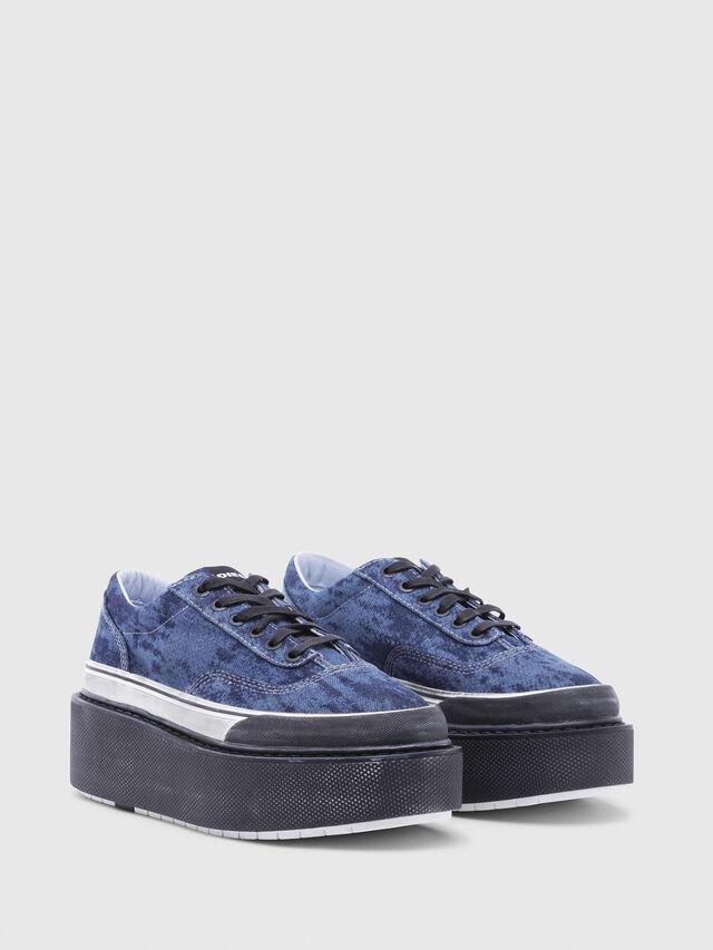 Diesel - H-SCIROCCO LOW, Blu - Sneakers - Image 2