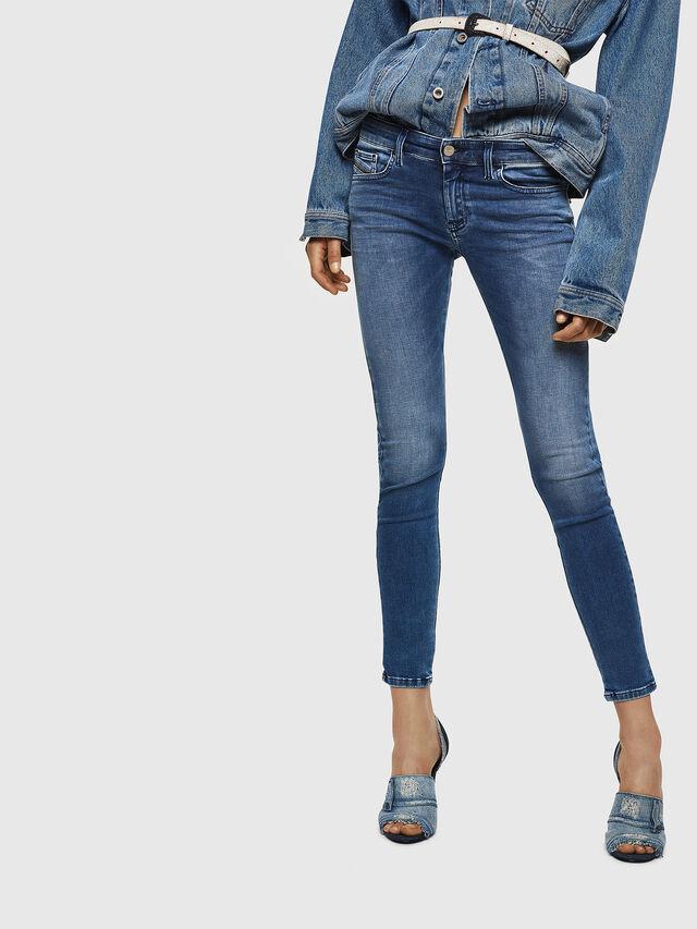 Diesel - Slandy Low 084NM, Blu medio - Jeans - Image 1