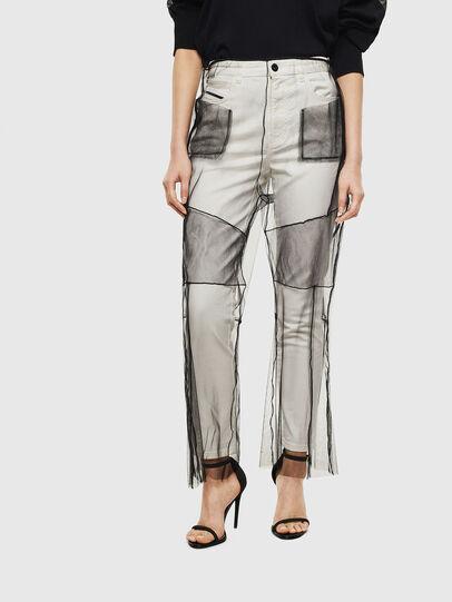 Diesel - TYPE-1003, Bianco - Jeans - Image 1