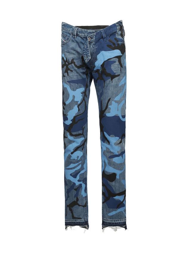 Diesel - SOPKN01, Blu Mélange - Jeans - Image 1