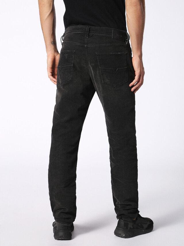 LARKEE-BEEX 0688W, Nero Jeans