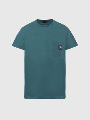 T-WORKY-MOHI, Verde Acqua - T-Shirts