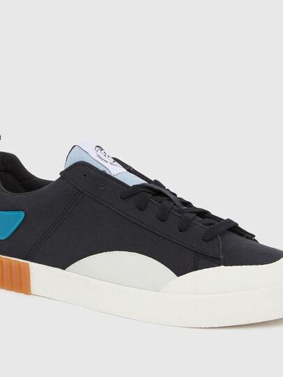 Diesel - S-BULLY LC, Nero/Blu - Sneakers - Image 4