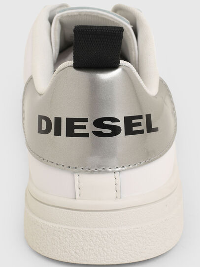 Diesel - S-CLEVER SO W, Bianco/Argento - Sneakers - Image 4