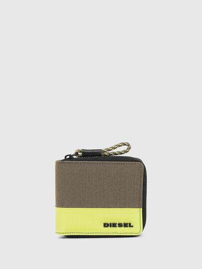 Diesel - ZIPPY HIRESH S, Verde - Portafogli Con Zip - Image 1