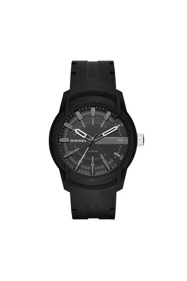 Armbar orologio in silicone con quadrante nero