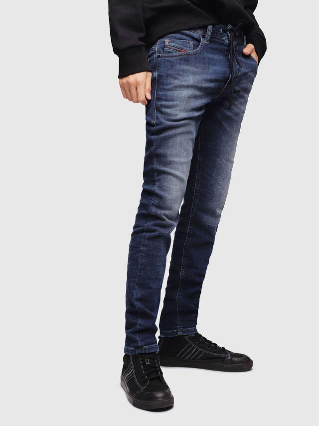Diesel - Thommer JoggJeans 088AX, Blu Scuro - Jeans - Image 1