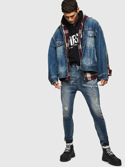 Diesel - D-LORY,  - Giacche in denim - Image 7