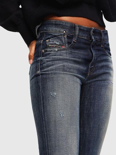 Diesel - D-Rifty 0096U, Blu Scuro - Jeans - Image 3