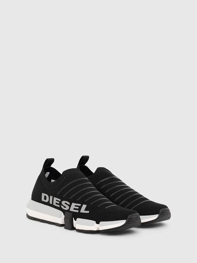 Diesel - H-PADOLA LOW SOCK, Nero - Sneakers - Image 2
