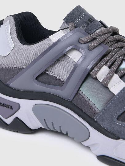 Diesel - S-KIPPER LOW TREK II, Grigio - Sneakers - Image 4